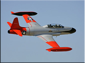 A T-33 Silver Star