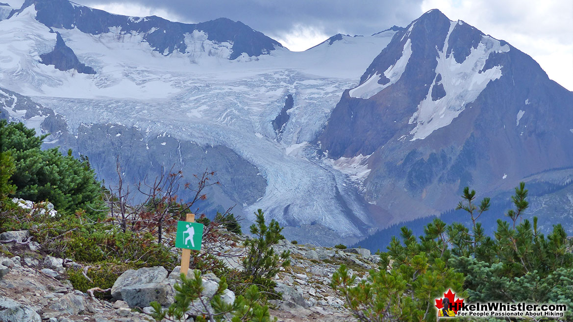 Blackcomb Mountain View of Overlord Glacier