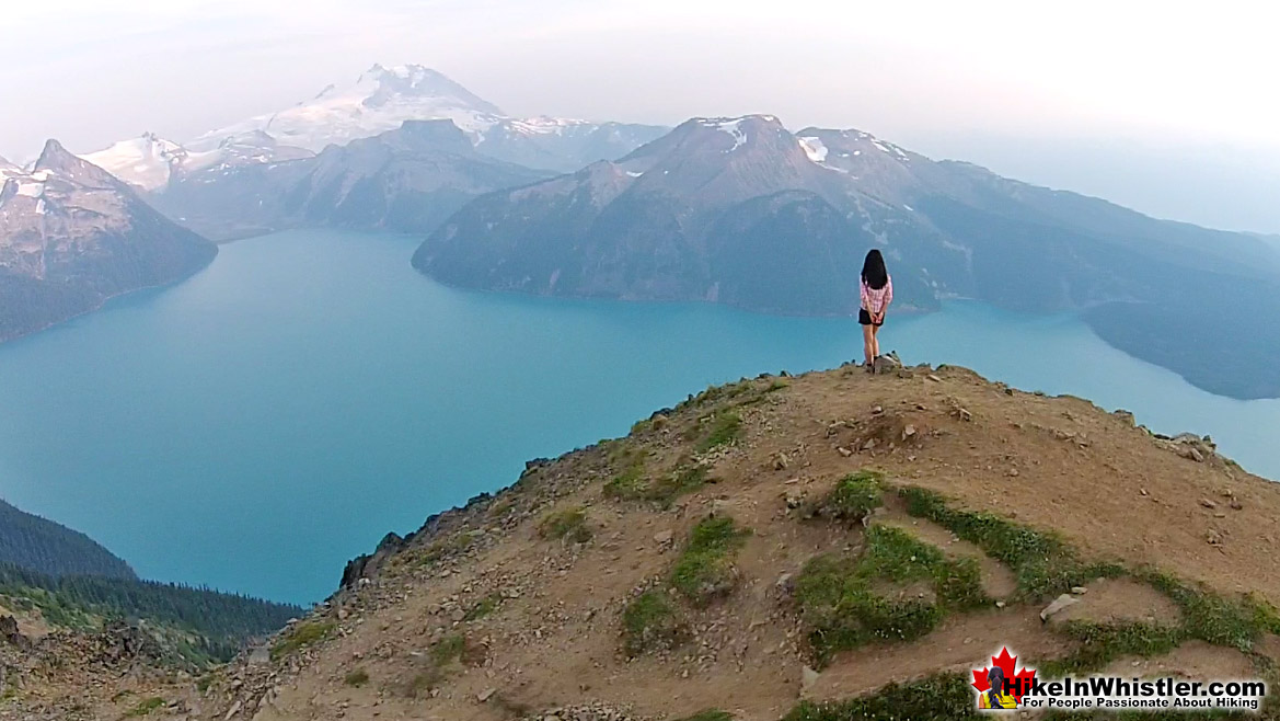Garibaldi Lake from Panorama Ridge