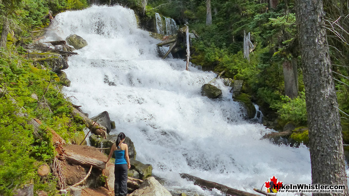 Holloway Falls in Joffre Lakes Provincial Park