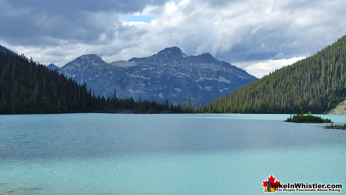 Joffre Lakes Provincial Park Hike in Whistler in September