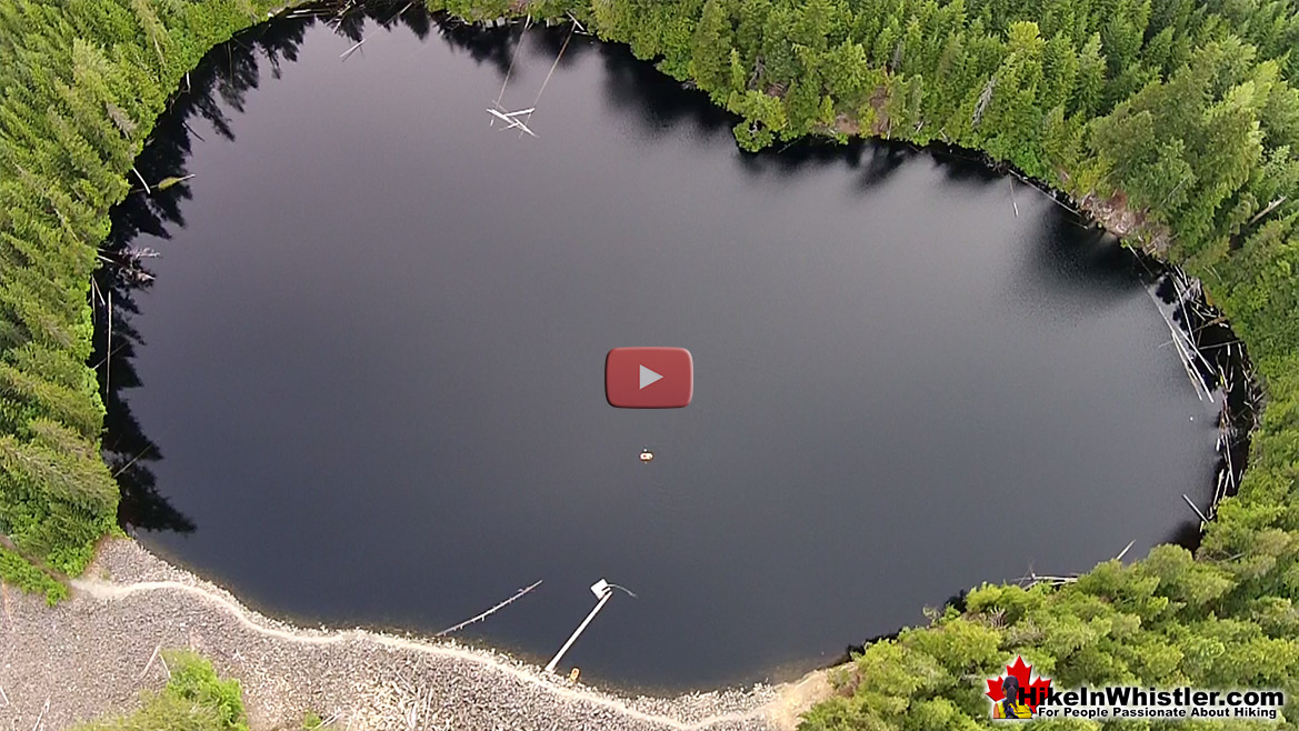 Logger's Lake Aerial View - Hike in Whistler