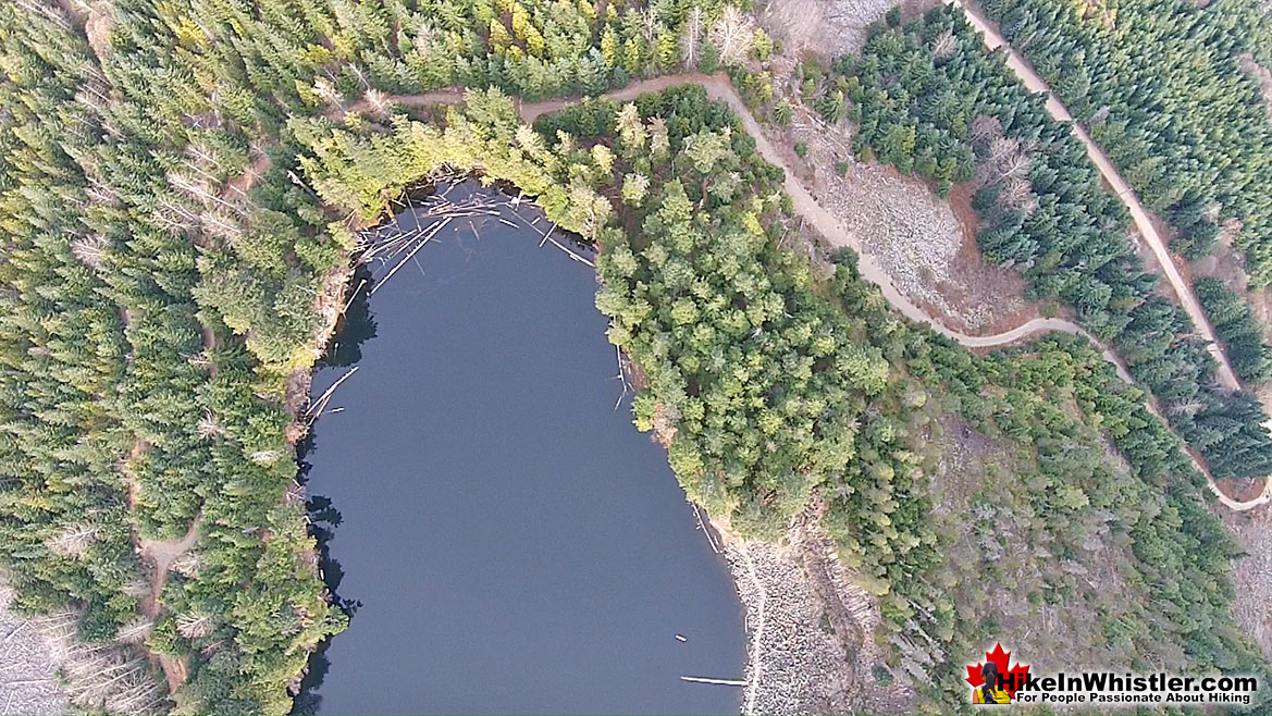 Logger's Lake Aerial View 37