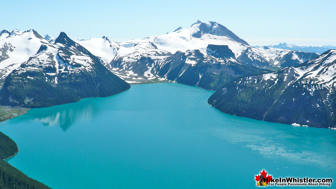 Panorama Ridge View of Garibaldi Lake