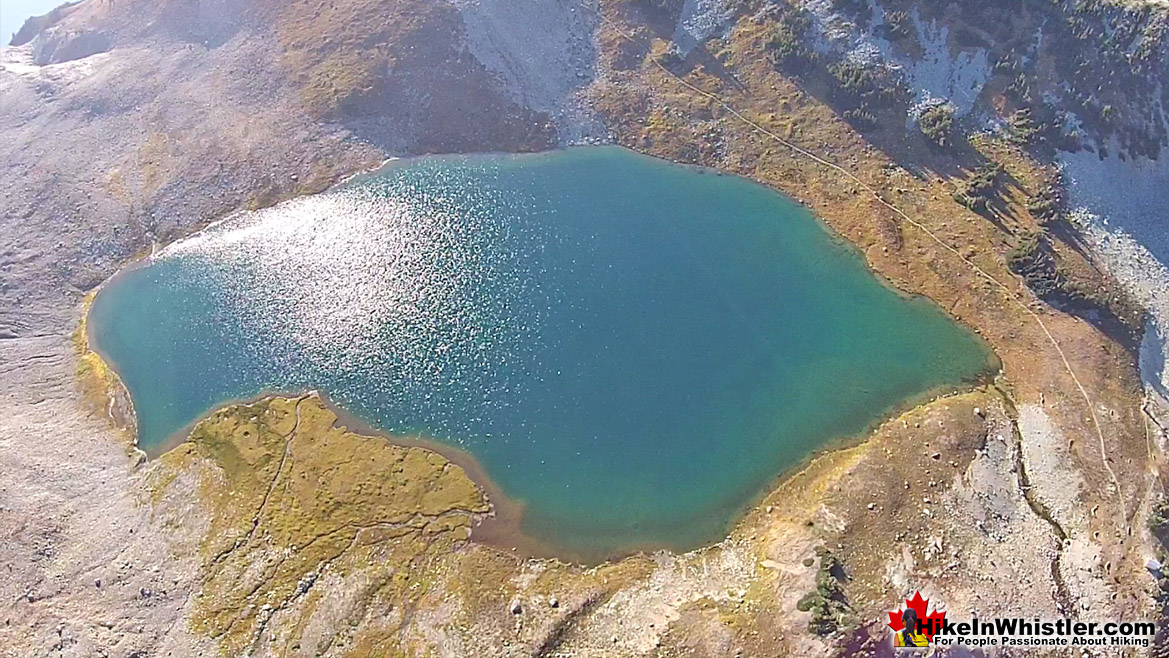 Aerial View of Russet Lake