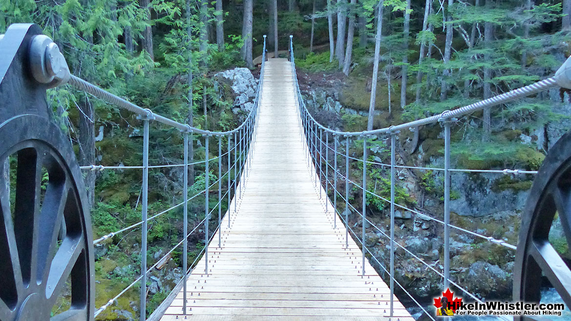 Whistler Train Wreck Suspension Bridge