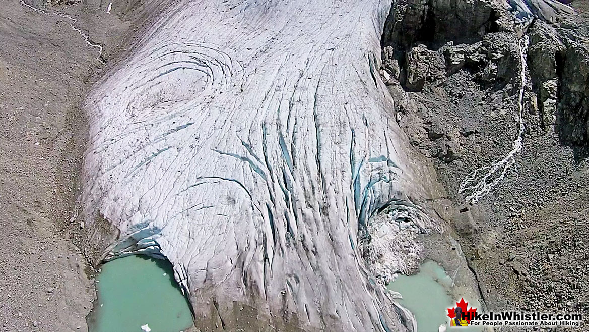 Wedge Glacier Aerial View