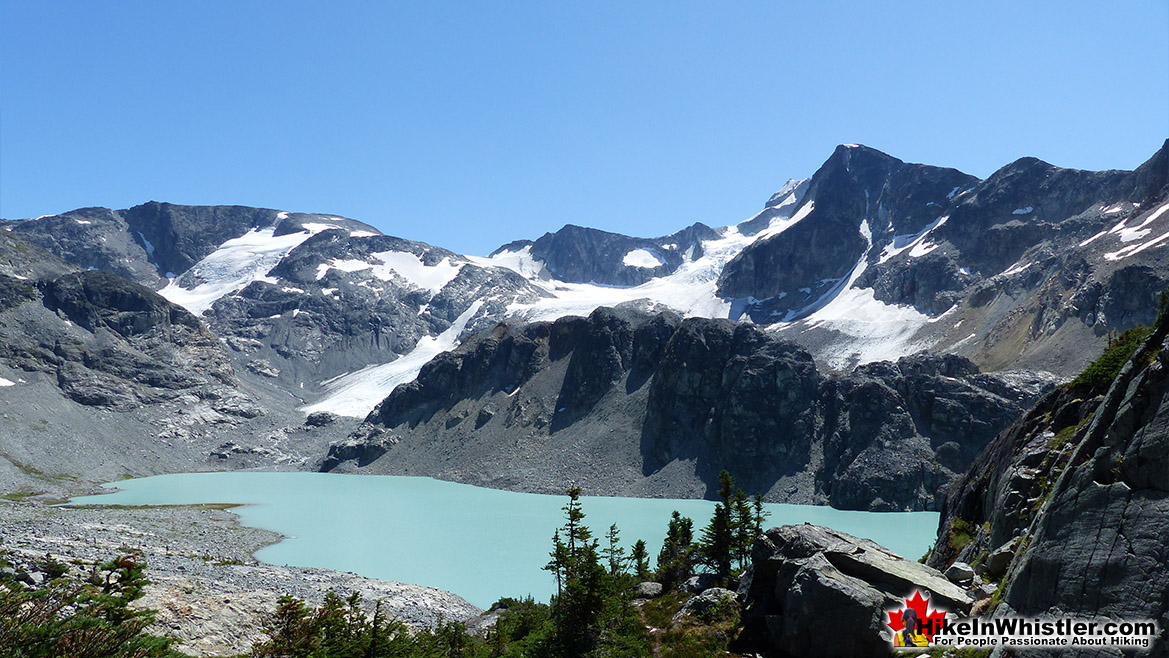 Wedgemount Lake and Wedge Glacier
