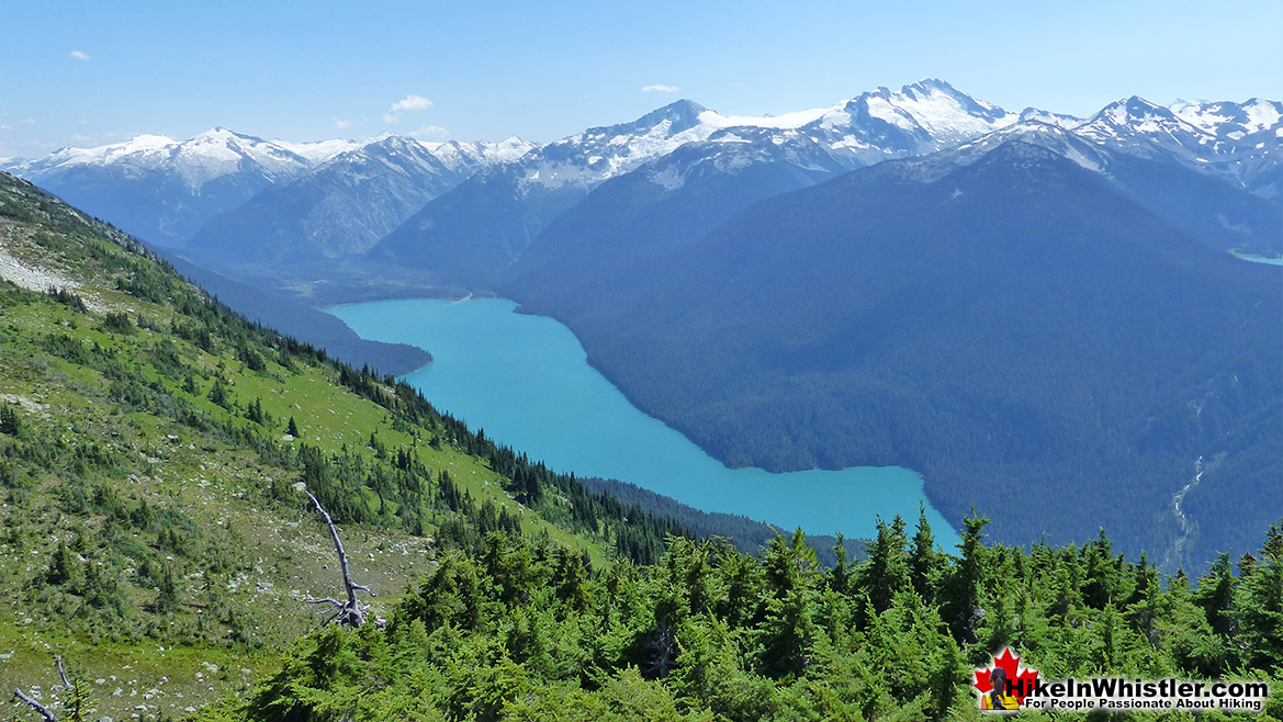 High Note Trail View of Cheakamus Lake