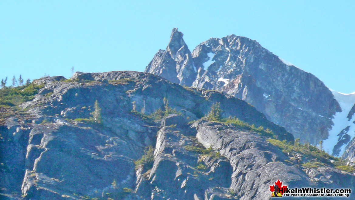Aiguille on Rethel Mountain