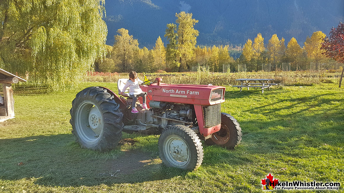North Arm Farm Tractor