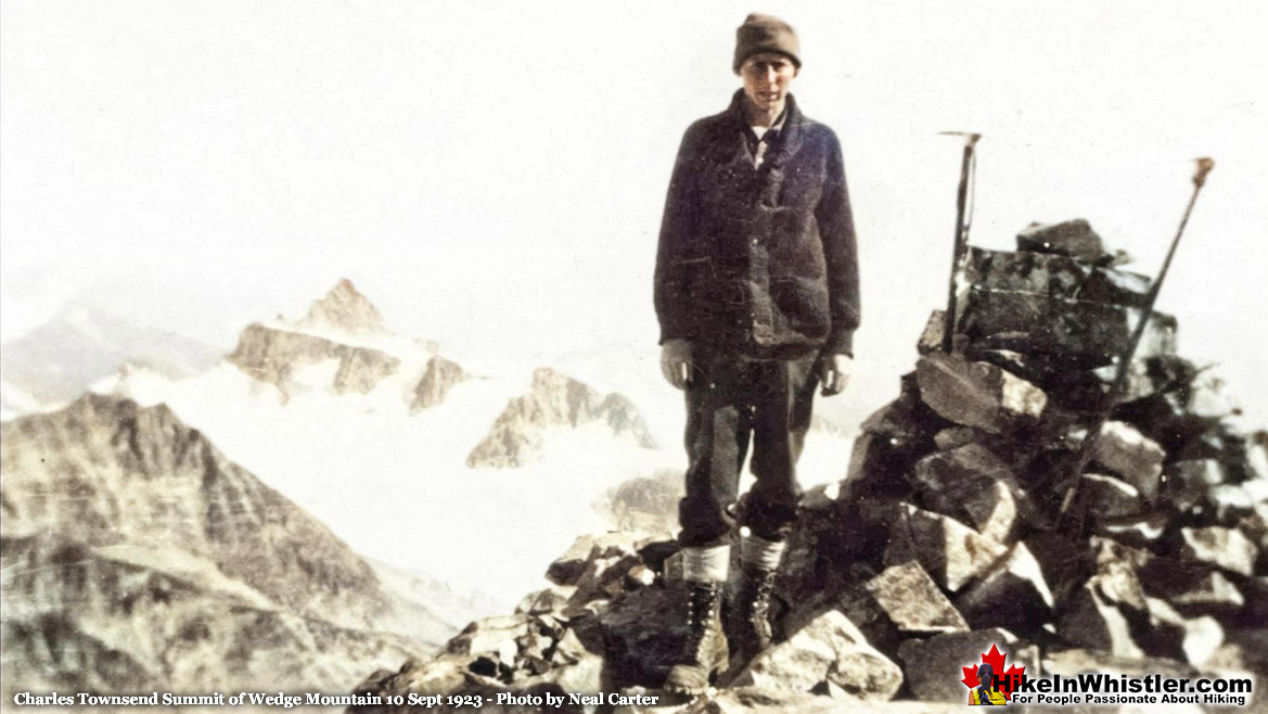Charles Townsend Wedge Summit 1923