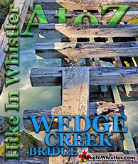Wedge Creek in Whistler
