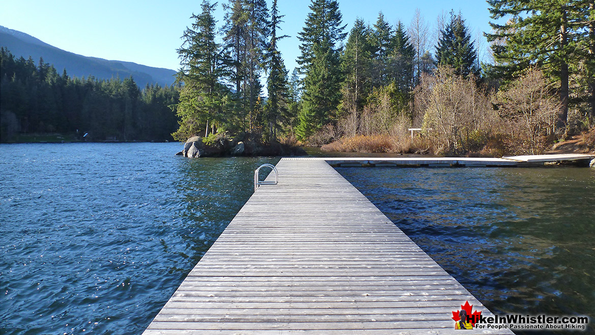 Alta Lake Park Pier Run in Whistler