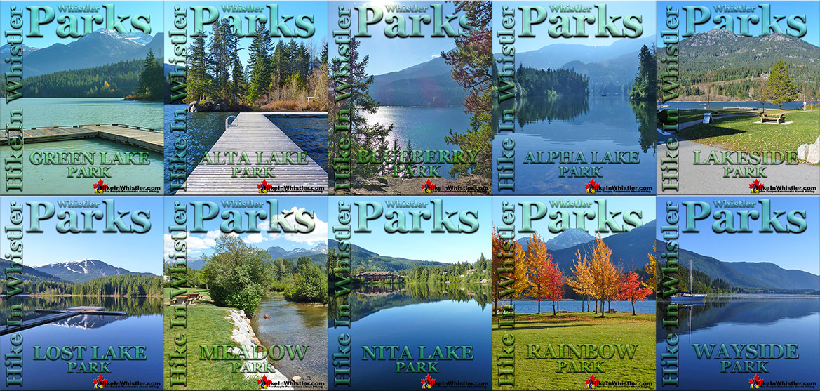 Best Whistler Parks & Beaches