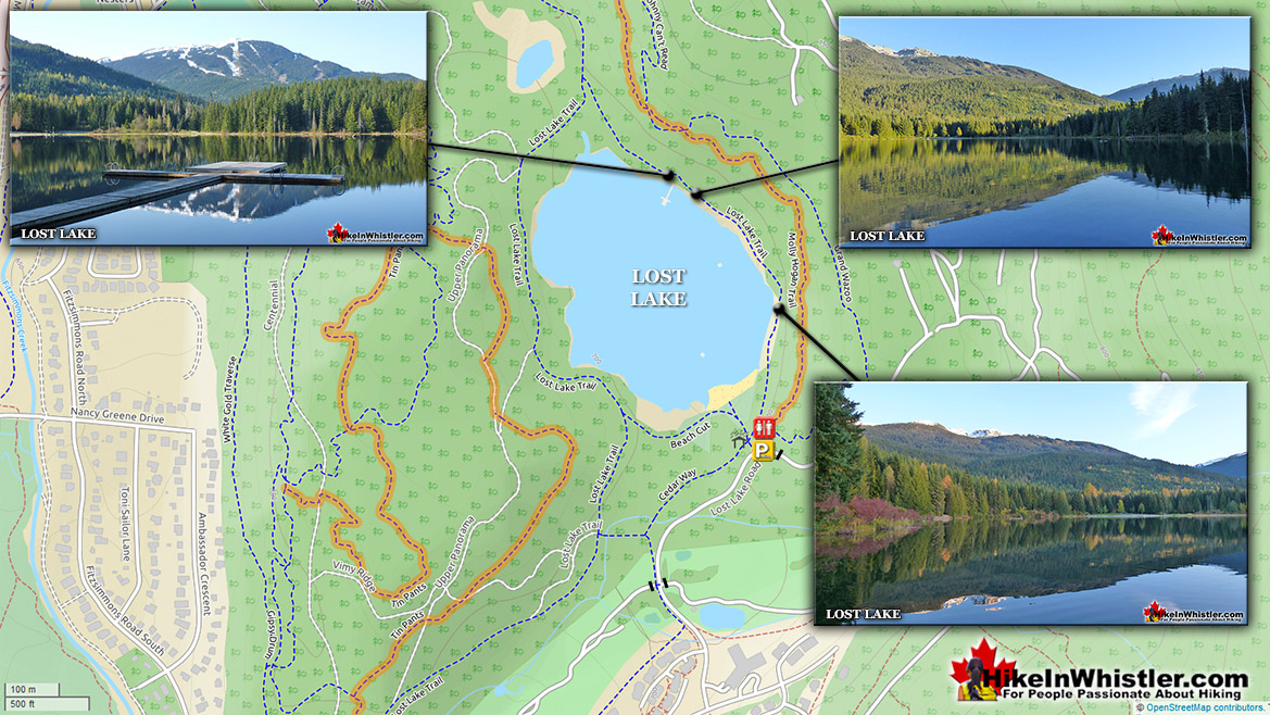 Lost Lake Park Map