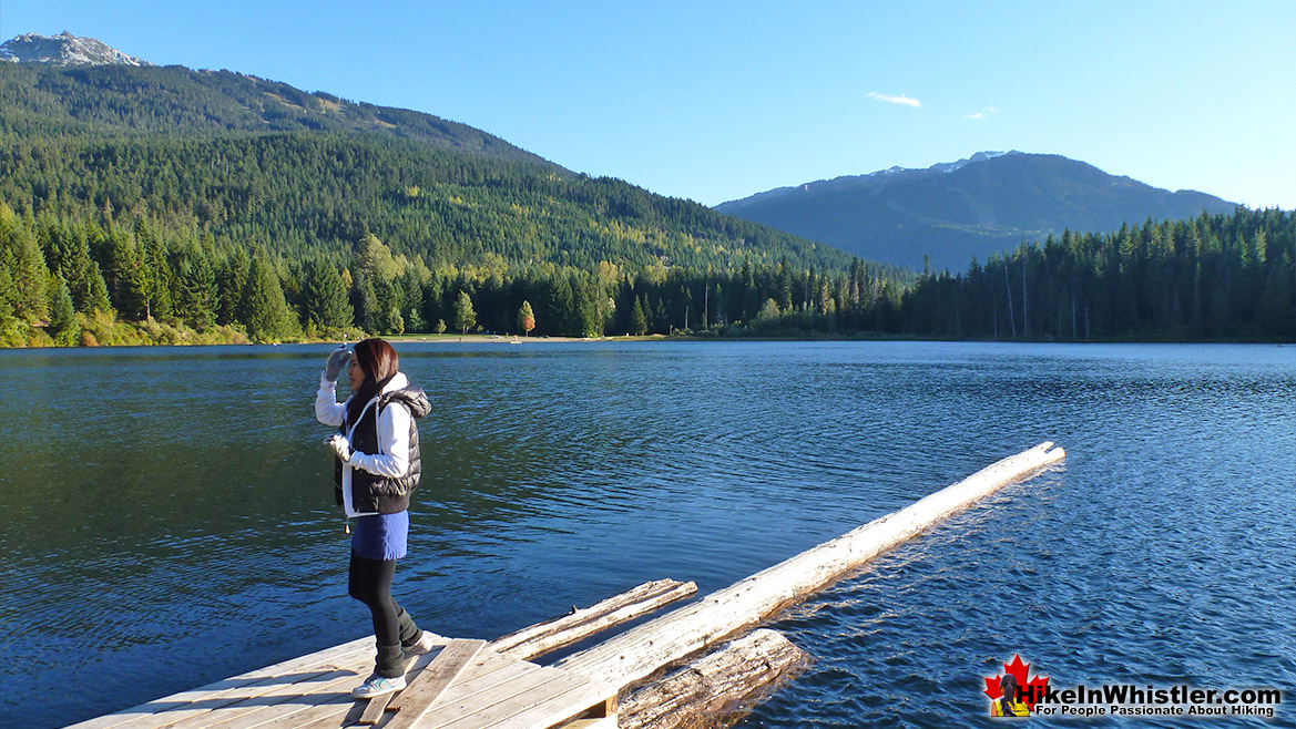 Lost Lake Pier Hike in Whistler November