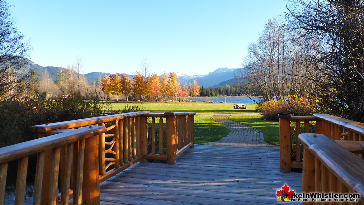 Rainbow Park Whistler in November