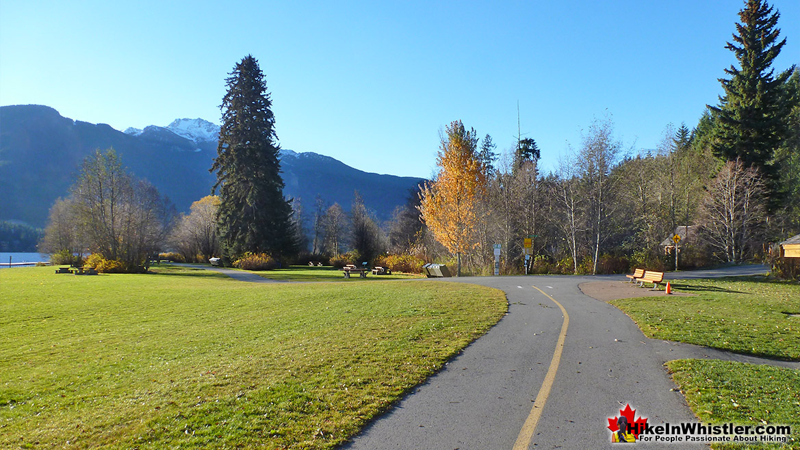 Rainbow Park Run in Whistler