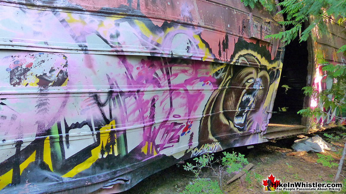 Kups Zombie Grizzly at Whistler Train Wreck