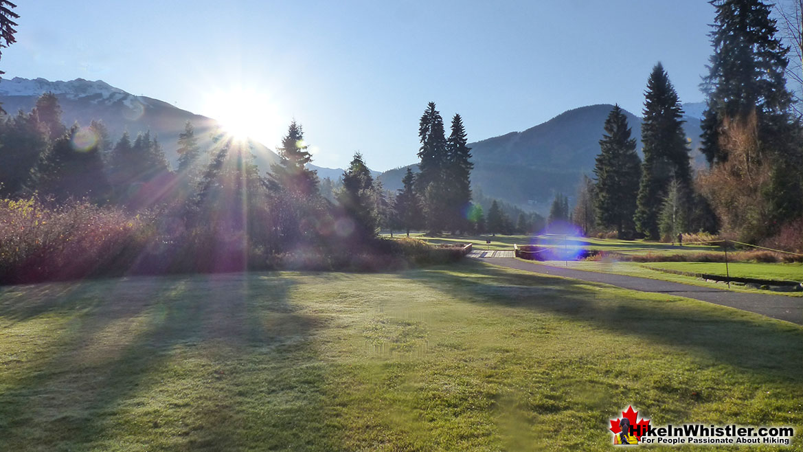 Whistler Golf Course 5k Run Sunrise
