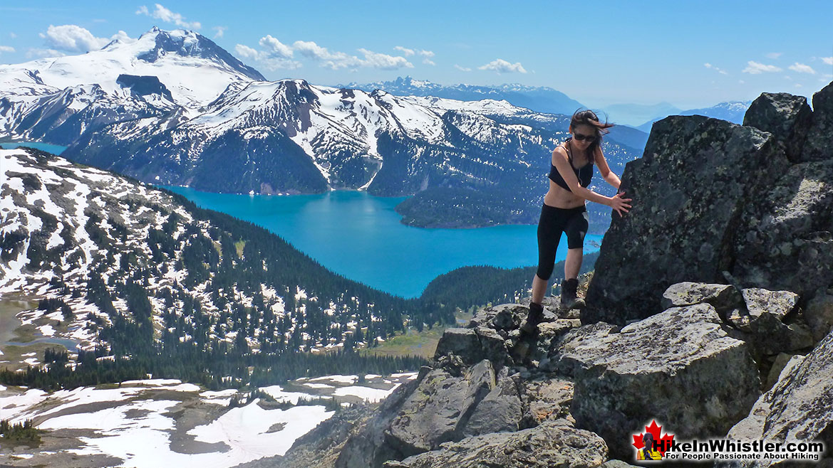 Hiking to Black Tusk in Garibaldi Park