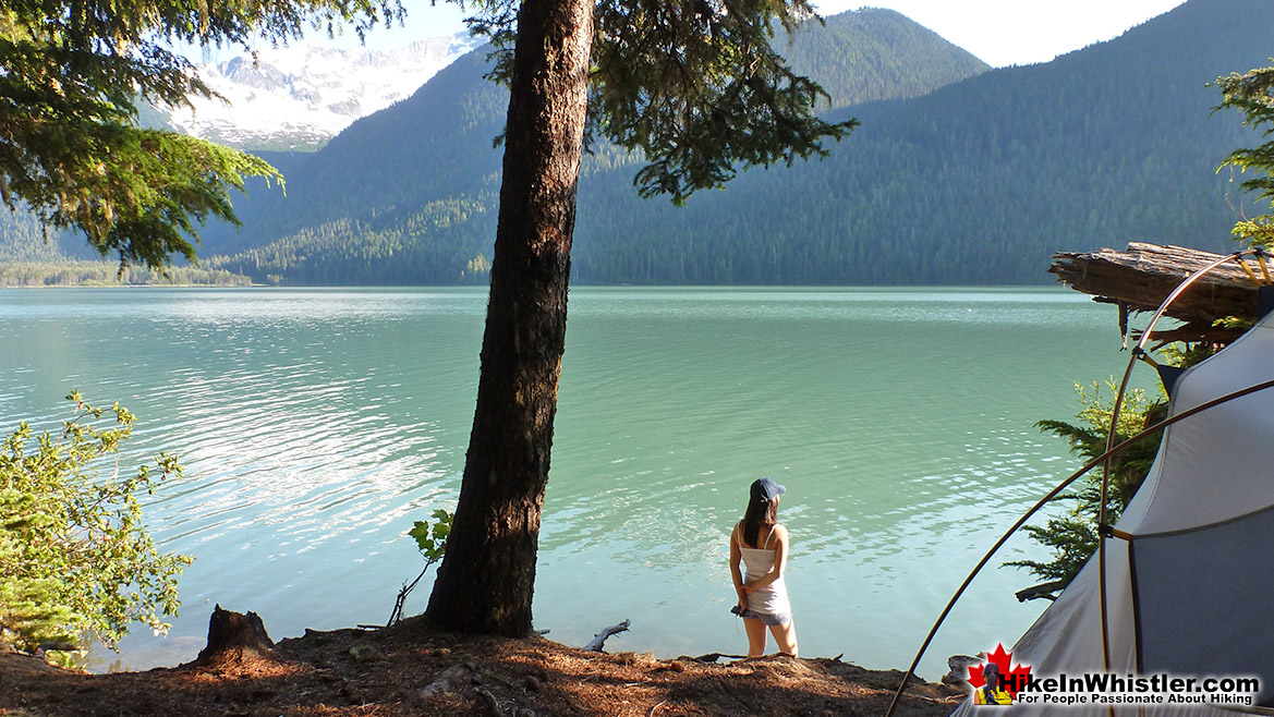 Best Whistler Hiking in June - Cheakamus Lake