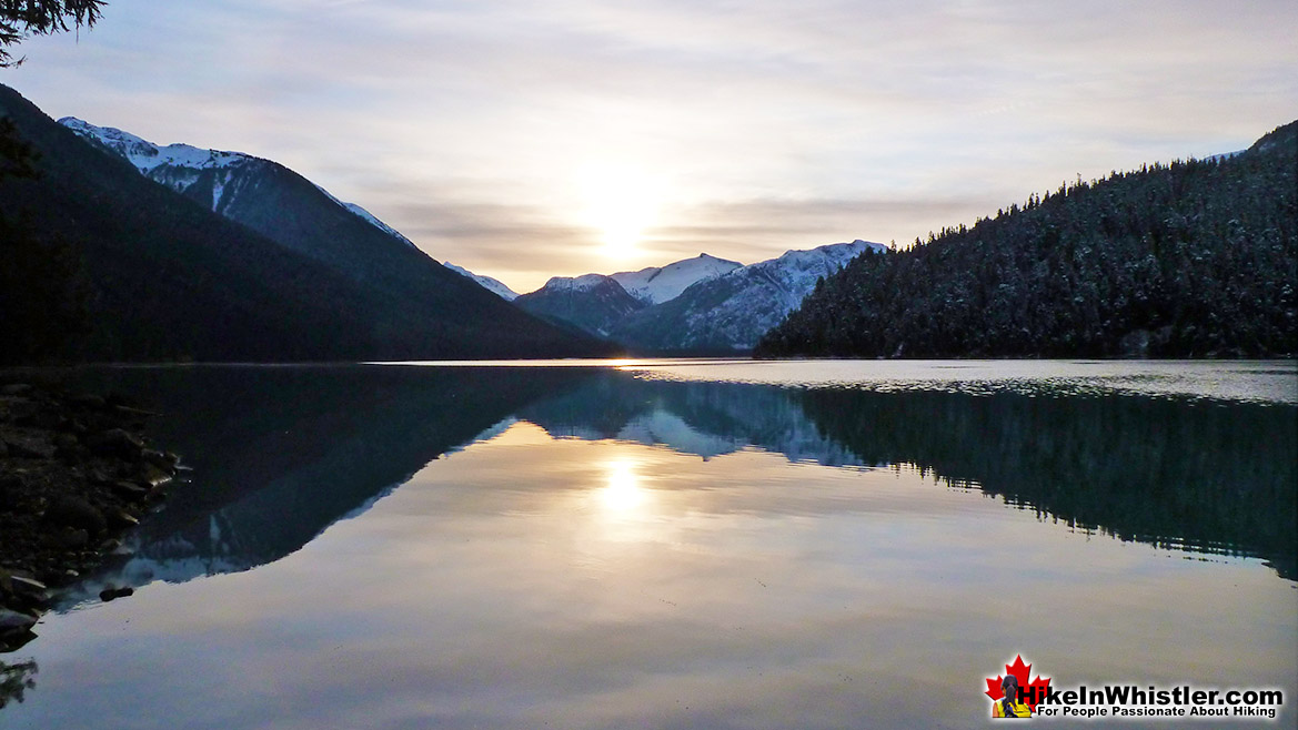Cheakamus Lake Hike in Whistler November
