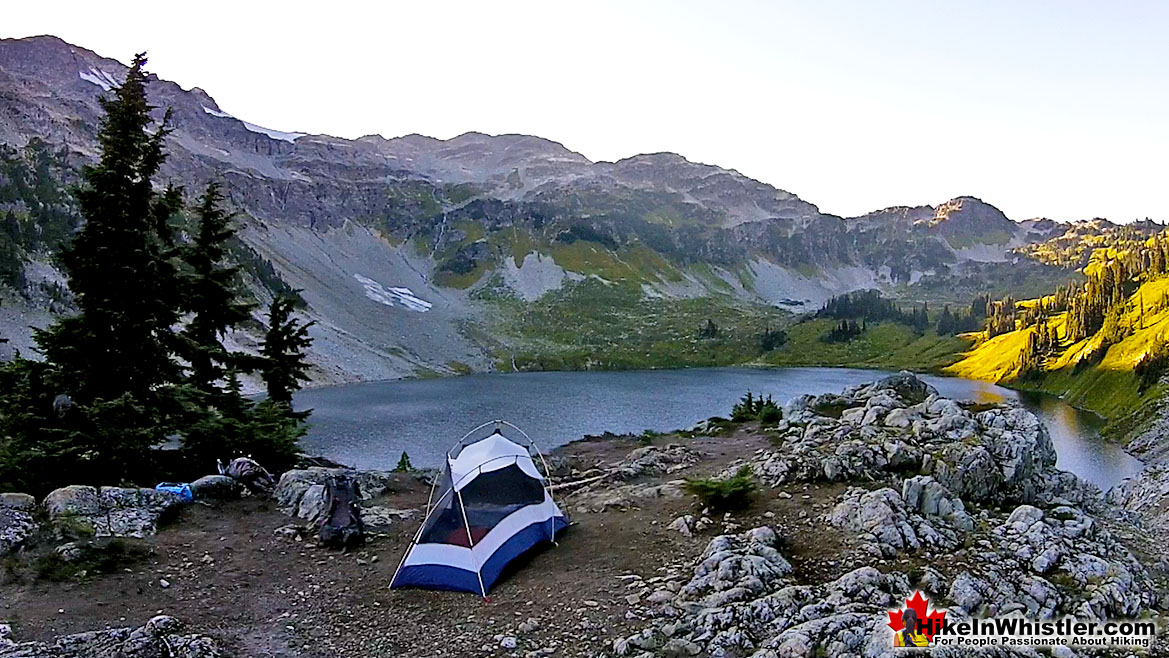 Cirque Lake Tent View 21