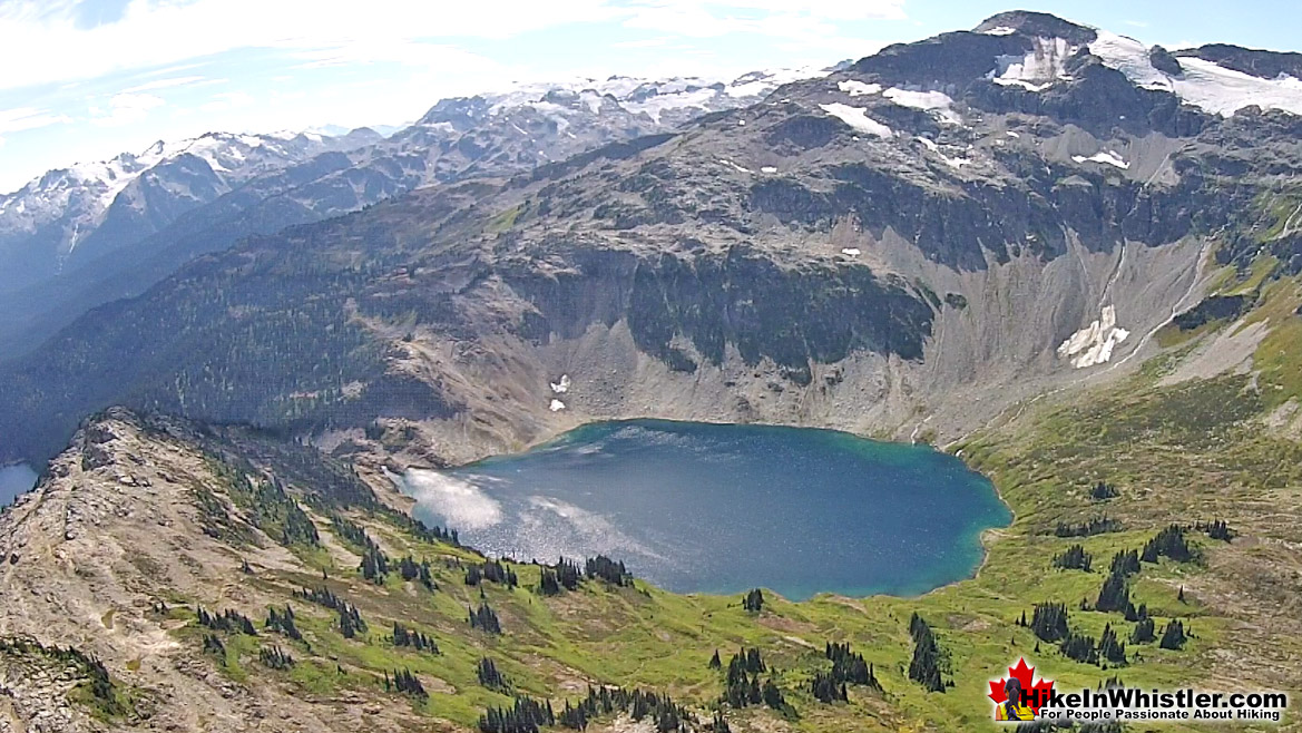 Cirque Lake Aerial View