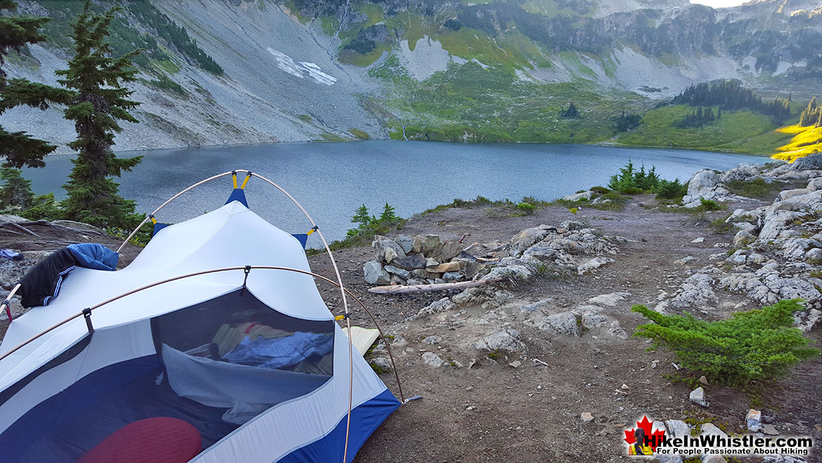 Cirque Lake Campsite