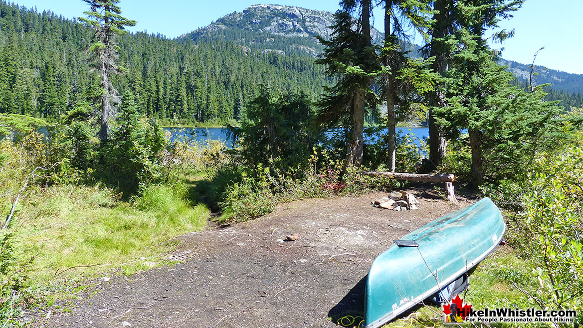 Cirque Lake Trailhead Camp