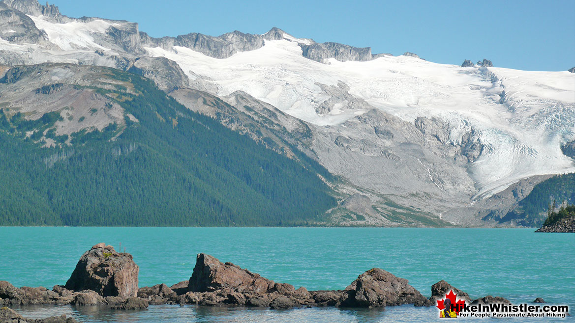 Garibaldi Lake Campsite View of Sphinx Glacier