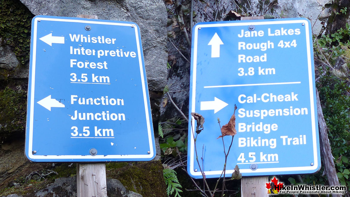 Old Jane Lakes FSR Signs