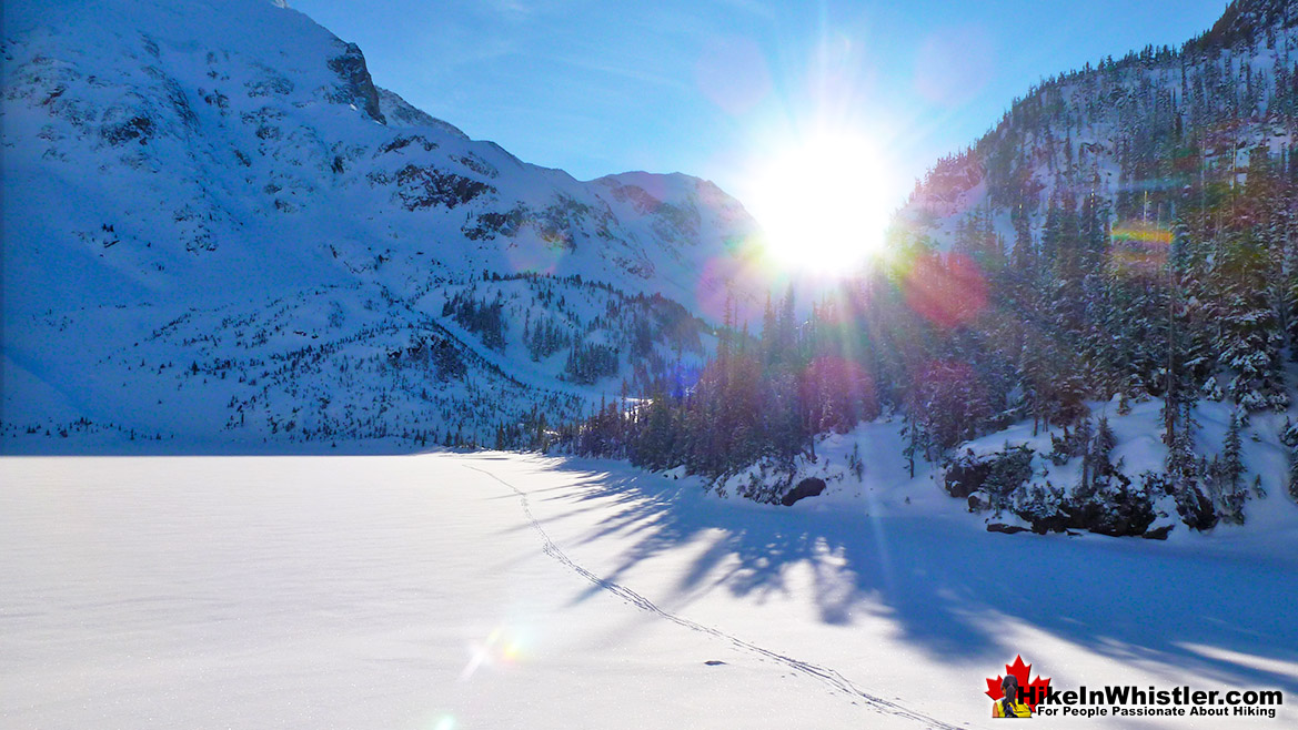 Joffre Lakes Hike in Whistler November