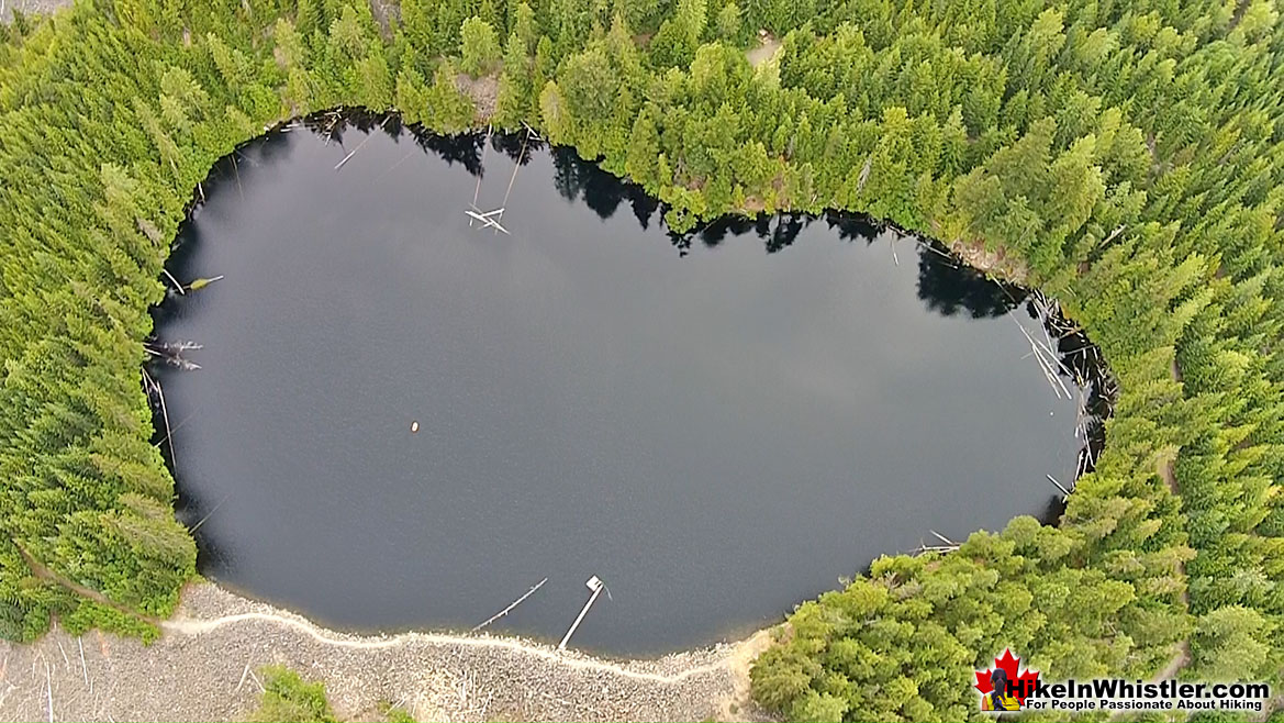 Loggers Lake Aerial View