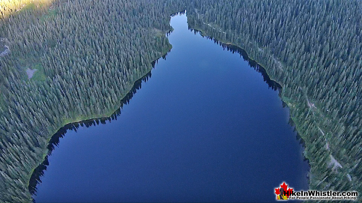 Madeley Lake Aerial View 43