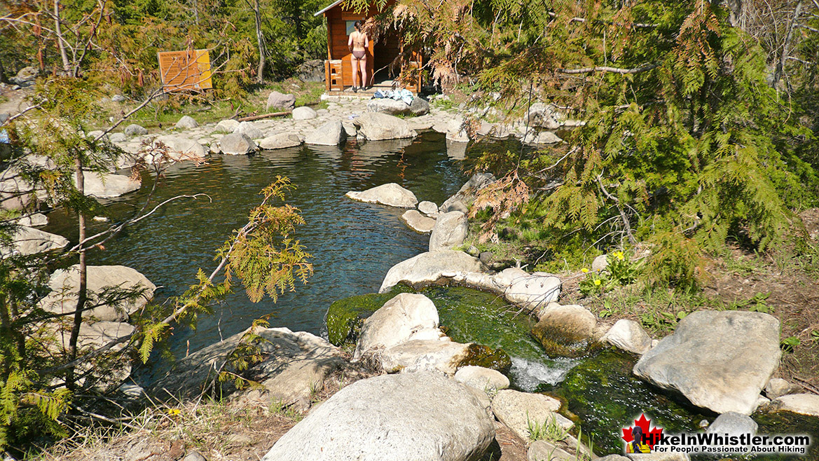 Meager Hot Springs - Hike in Whistler