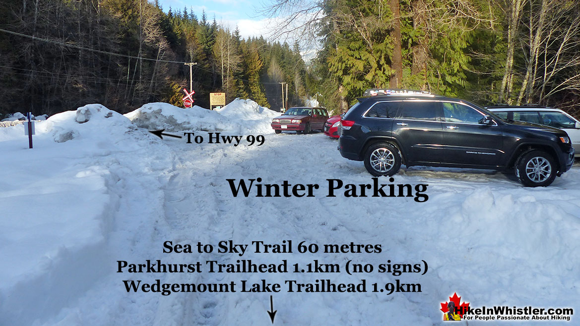 Parkhurst and Wedge Winter Parking