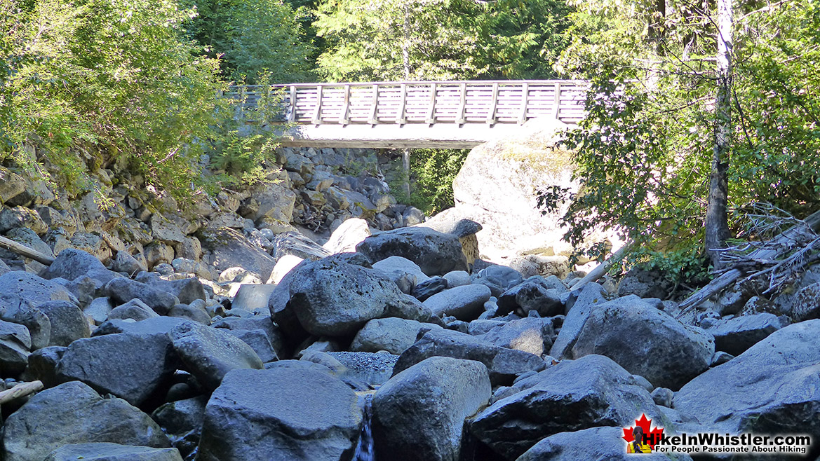 Flank Trail Bridge Near Rainbow Falls