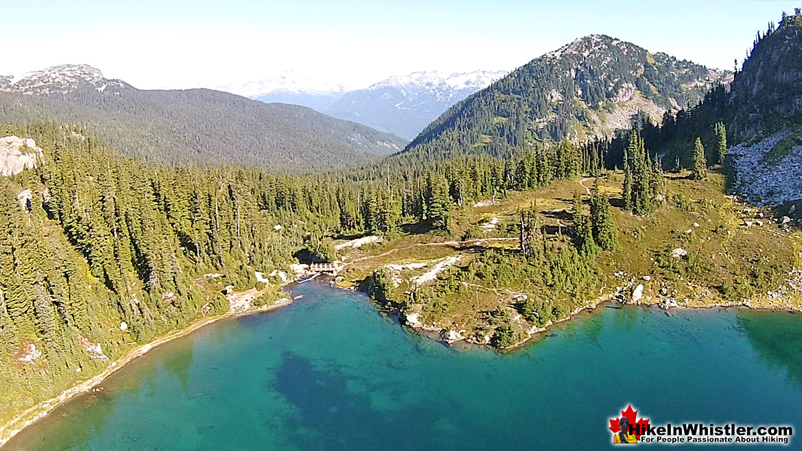 Rainbow Lake Aerial View 33