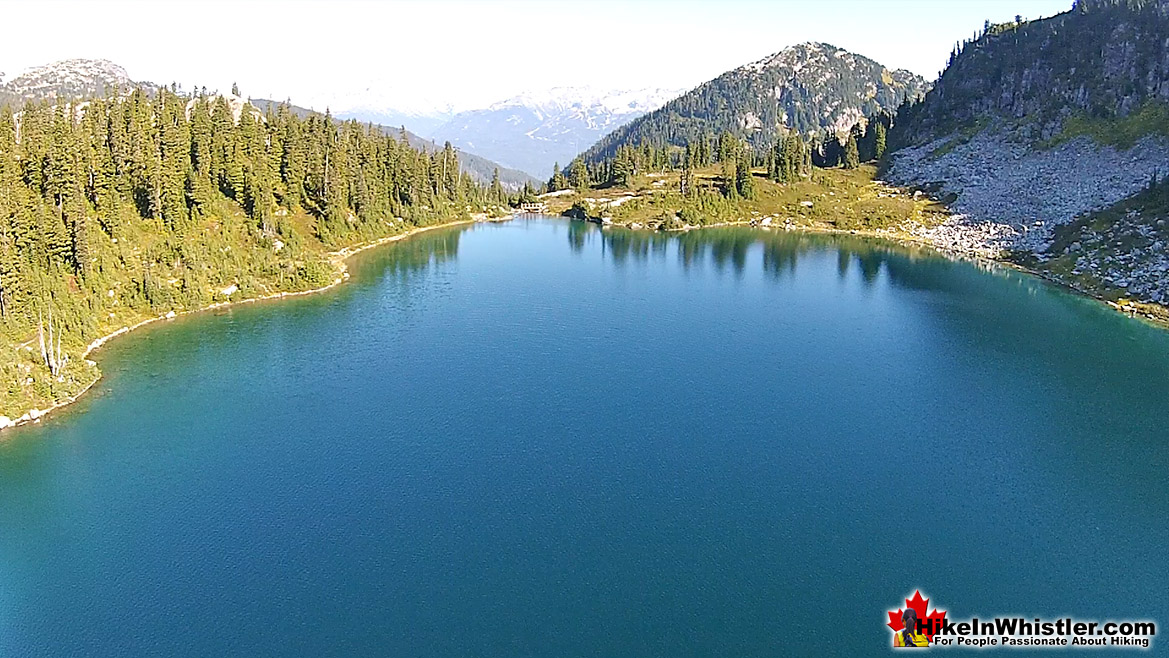 Rainbow Lake Aerial View 35