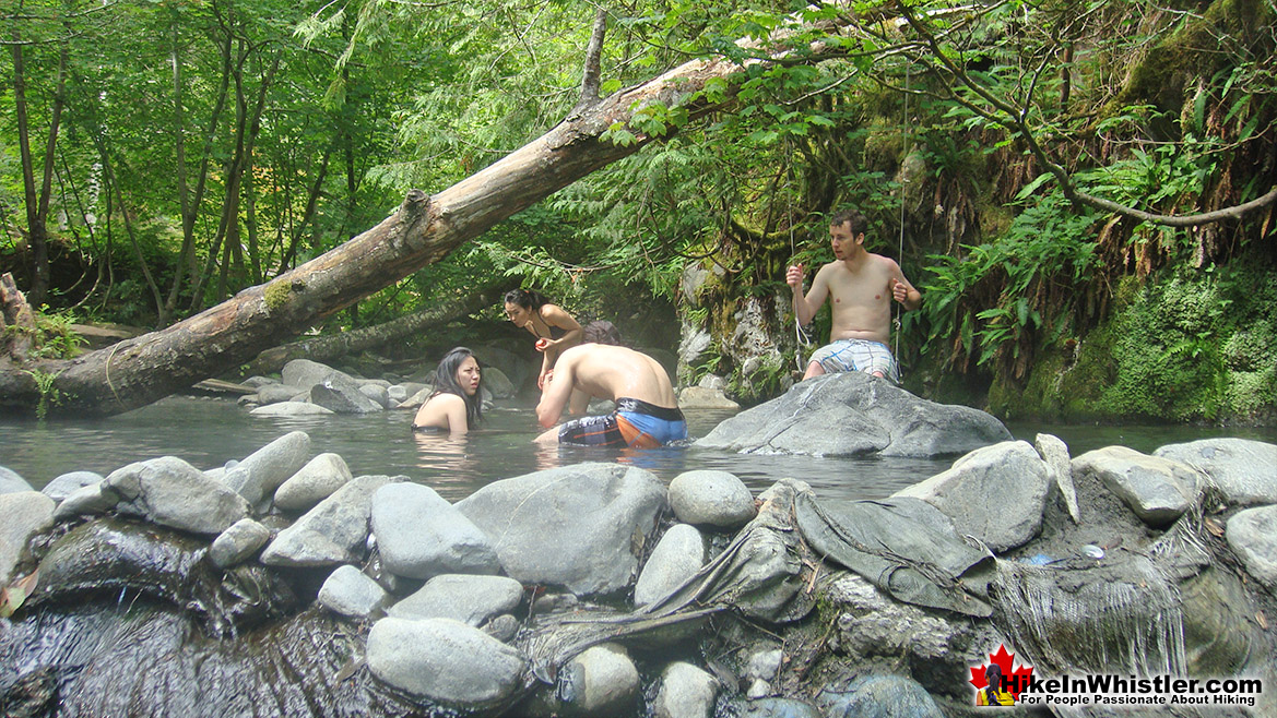 Sloquet Hot Springs - Hike in Whistler