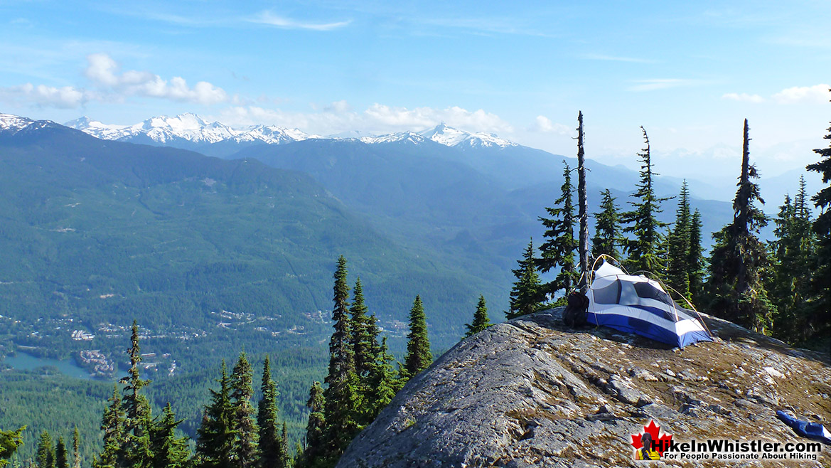 Mount Sproatt Tent - Hike in Whistler