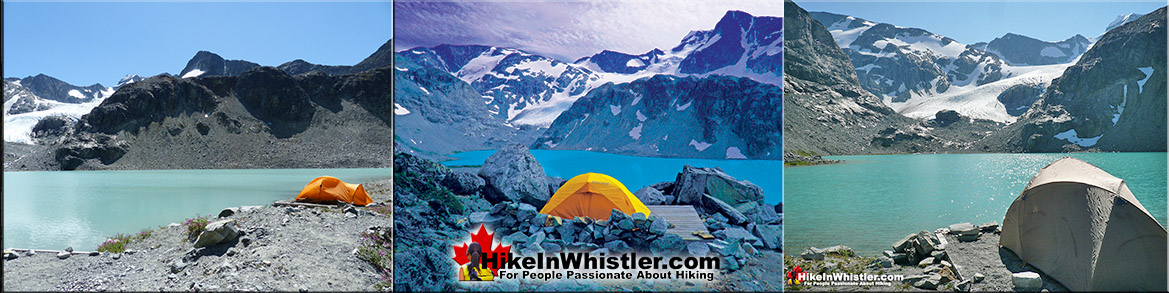 Wedgemount Lake Campground in Garibaldi Park