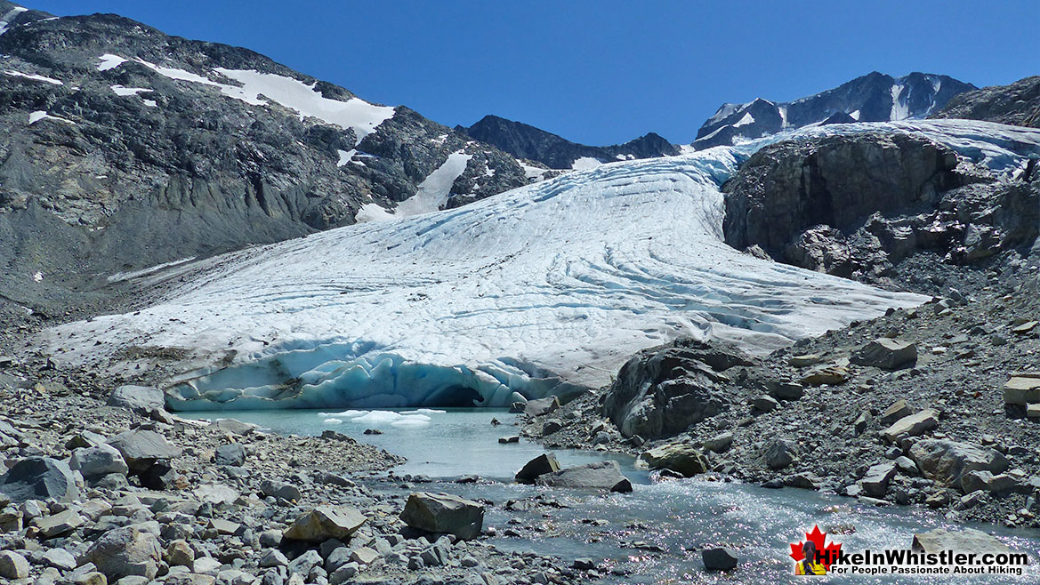 Wedgemount Lake Wedge Glacier