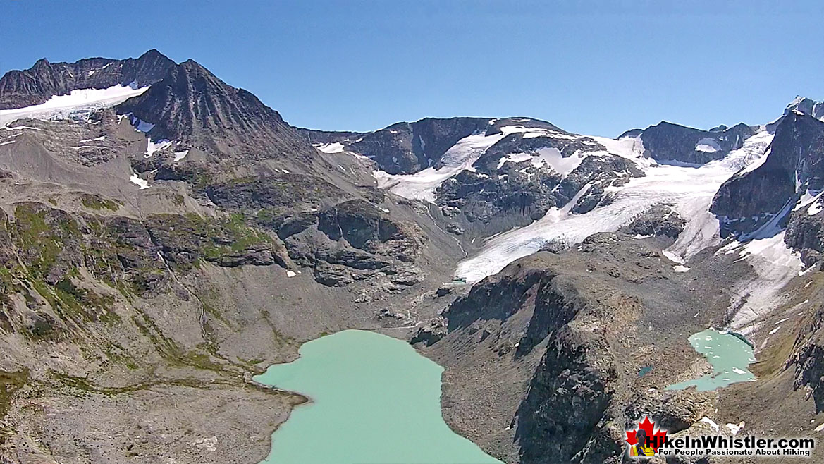 Wedgemount Lake Aerial View