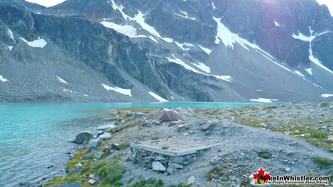 Wedgemount Lake Tent Clearings