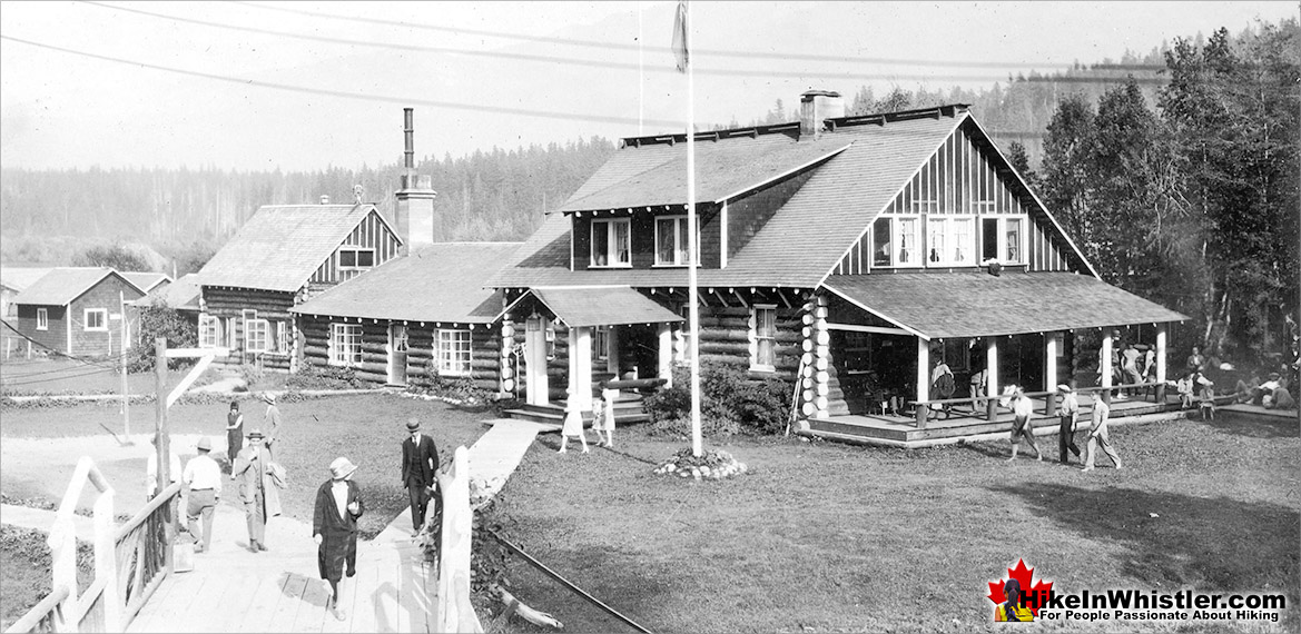 Rainbow Lodge in 1928
