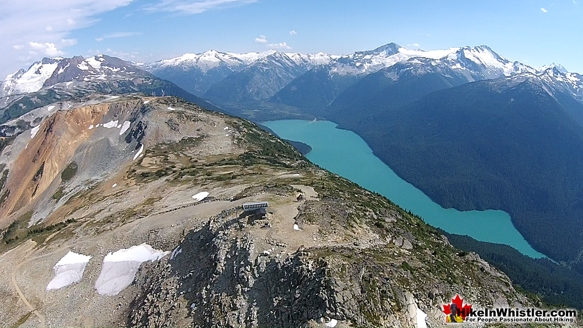 Whistler Mountain Aerial View 33